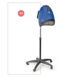 Secador de casco 3V iónico azul