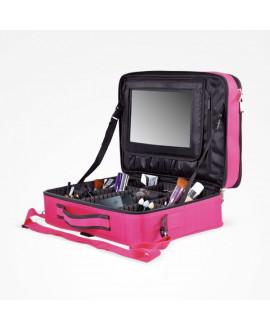 Maletín maquillaje MFlex XL rosa