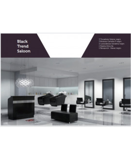 Salón peluquería Black Trend