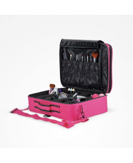 Maletín maquillaje MFlex L color rosa