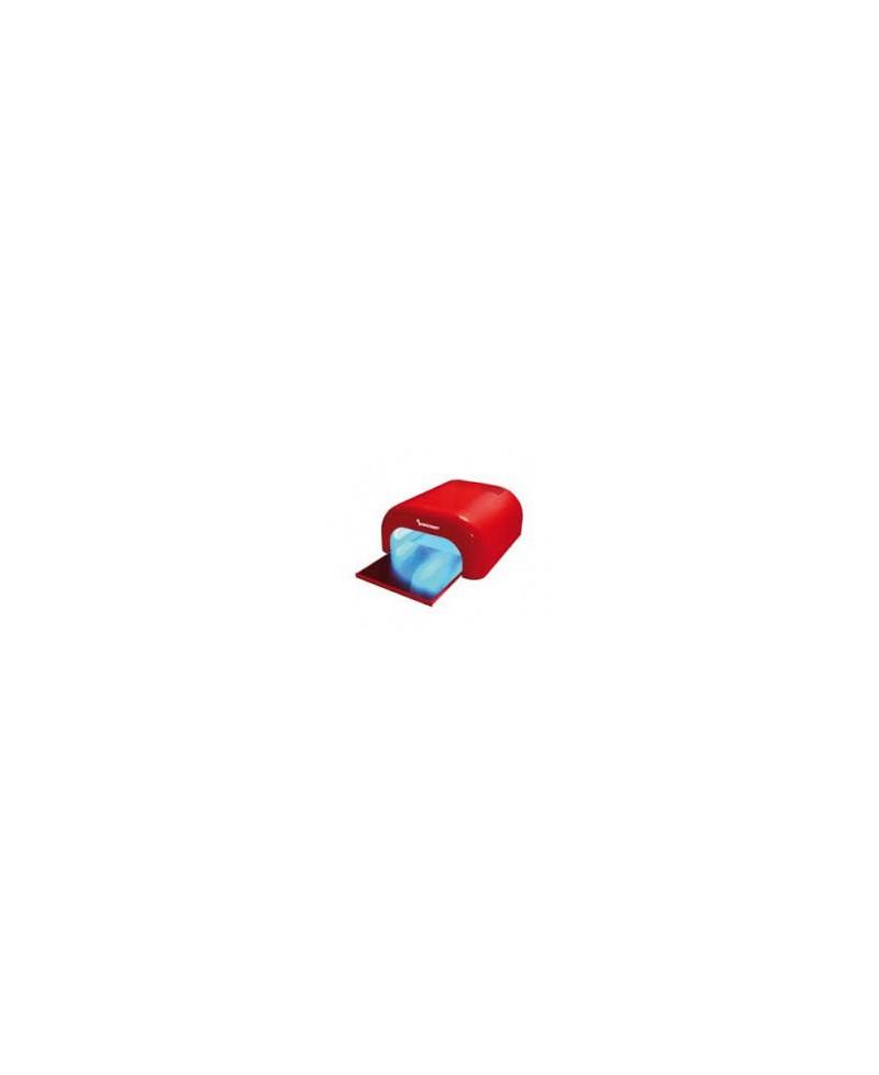Lámpara uñas UV Tecnonails roja