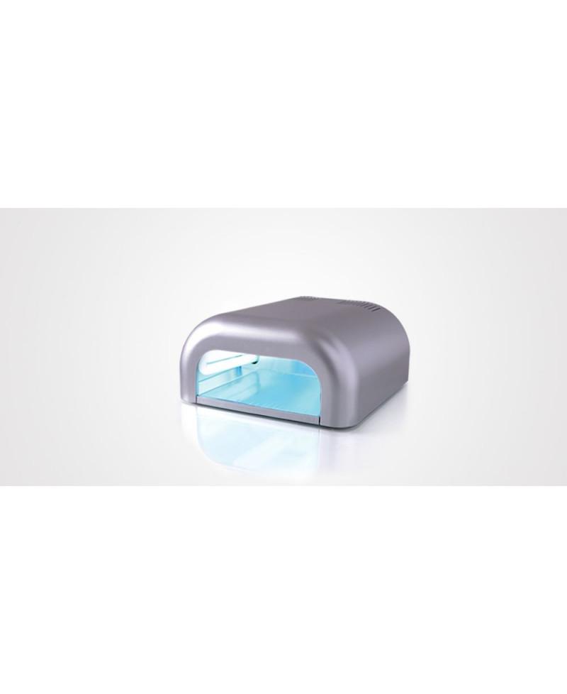 Lámpara uñas UV Tecnonails plata