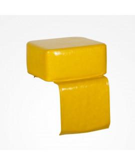 Alzador peluquería Dado color amarillo