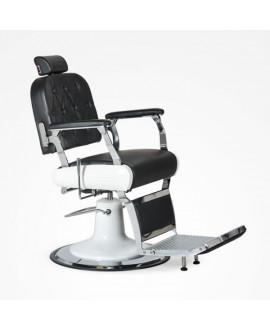 Sillón de barbero Floyd color negro
